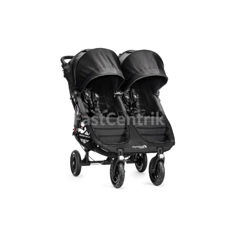 Kočík City Mini double GT BLACK/BLACK
