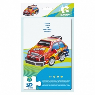 BAGGY ´CAR´ - 3D PUZZLE 10KS